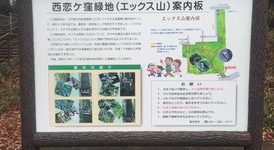 Photo of Park エックス山 at Kokubunji, Japan