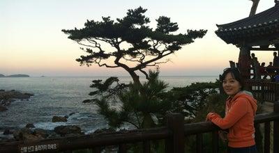 Photo of Scenic Lookout 낙산사 의상대 at 강현면 낙산사로 100, 양양군, South Korea