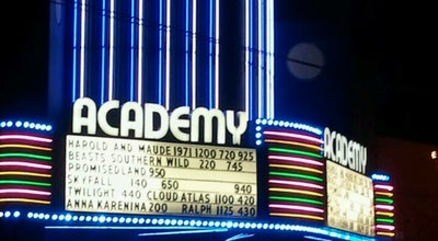 Photo of Indie Movie Theater Academy Theater at 7818 Se Stark St, Portland, OR 97215, United States