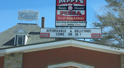 Photo of Pizza Place Pappy's Pizza at 1531 Elm St, Manchester, NH 03101, United States