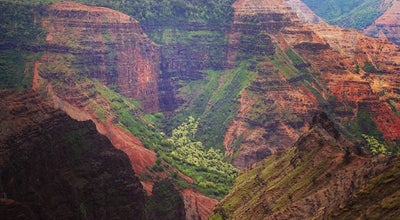 Photo of Scenic Lookout Waimea Canyon at Waimea Canyon, Waimea, HI 96796, United States