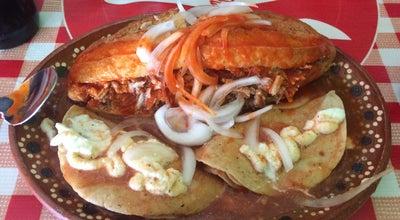 """Photo of Mexican Restaurant Tortas """"Santas Ahogadas"""" at Rio Paxtla, Mexico"""