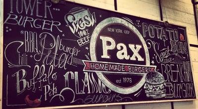 Photo of Burger Joint Pax Homemade Burgers at Ελευθερίου Βενιζέλου 8, Θεσσαλονίκη 546 24, Greece