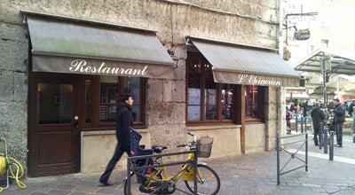 Photo of French Restaurant L'Épicurien at 1 Place Aux Herbes, Grenoble 38000, France