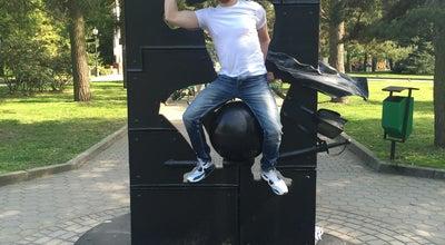 Photo of Outdoor Sculpture Памятник барону Мюнхгаузену at Цпкио, Kaliningrad, Russia