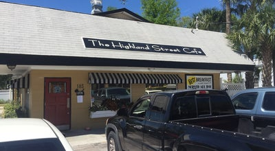 Photo of Breakfast Spot Highland Street Cafe at 185 S Highland St, Mount Dora, FL 32757, United States