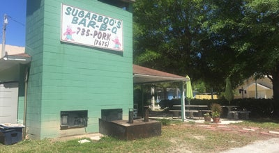 Photo of BBQ Joint Sugarboo's Bar-B-Que at 1305 N Grandview St, Mount Dora, FL 32757, United States