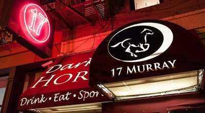 Photo of American Restaurant Dark Horse at 17 Murray St, New York, NY 10007, United States