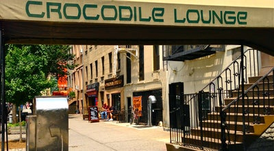 Photo of American Restaurant Crocodile Lounge at 325 E 14th St, New York, NY 10003, United States