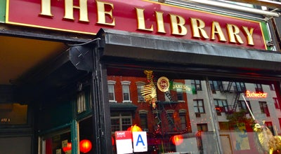Photo of Nightclub The Library at 7 Avenue A, New York, NY 10009, United States