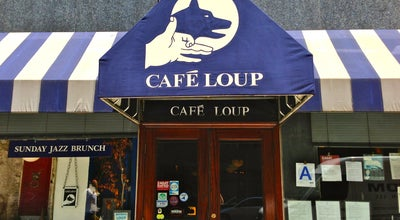 Photo of French Restaurant Café Loup at 105 W 13th St, New York, NY 10011, United States