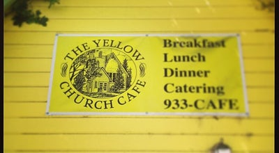 Photo of American Restaurant Yellow Church Café at 111 S Pearl St, Ellensburg, WA 98926, United States