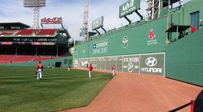 Photo of Historic Site The Green Monster at Fenway Park, Boston, MA 02215, United States