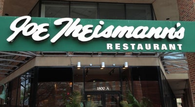 Photo of American Restaurant Joe Theismann's Restaurant at 1800 Diagonal Rd, Alexandria, VA 22314, United States