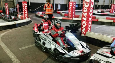 Photo of Racetrack Daytona Indoor Karting at Wharfside Way, Manchester M17 1NF, United Kingdom
