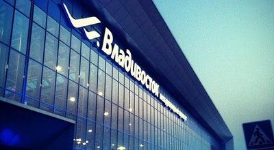 Photo of Airport Международный аэропорт Владивосток / Vladivostok International Airport (VVO) at Портовая Ул., 45, Артем 692756, Russia