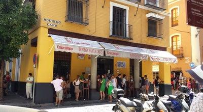Photo of Tapas Restaurant Bodega Santa Cruz Las Columnas at C. Mateos Gago, Sevilla 41004, Spain