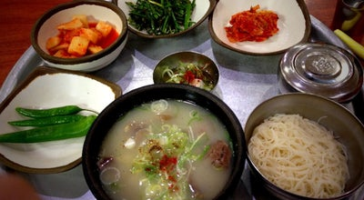 Photo of Korean Restaurant 육거리곰탕 at 망경로 303, 진주시 52707, South Korea
