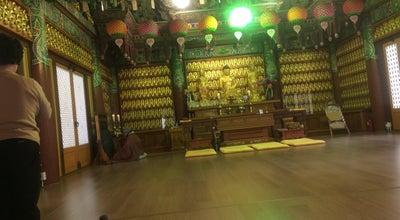 Photo of Temple 원각사 (圓覺寺) at 금남로4가 51, 동구 501-850, South Korea