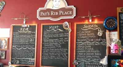 Photo of BBQ Joint Pat's Rib Place at 151 Sunset Dr, Waukesha, WI 53189, United States