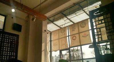 Photo of Cafe 牛奶书铺 Milk Bookstore at 中同仁路小通巷4号四号工厂青年旅舍1楼(近宽窄巷子), 成都, 四川, China