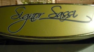 Photo of Italian Restaurant Signor Sassi at 14 Knightsbridge Green, London, Greater London SW1X 7QL, United Kingdom