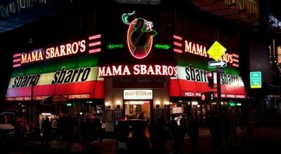 Photo of Pizza Place Sbarro at 1606 Broadway, New York, NY 10019, United States