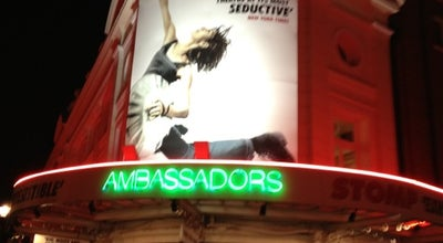 Photo of Theater Ambassadors Theatre at West St., London WC2H 9ND, United Kingdom