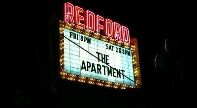 Photo of Indie Movie Theater Redford Theatre at 17360 Lahser Rd, Detroit, MI 48219, United States
