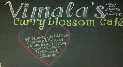 Photo of Indian Restaurant Vimala's Curryblossom Cafe at 431 W Franklin St, Chapel Hill, NC 27516, United States