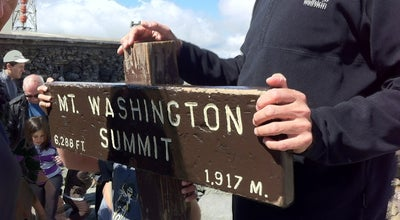 Photo of Mountain Mount Washington Summit at Mount Washington Auto Road, Sargent's Purchase, NH 03589, United States
