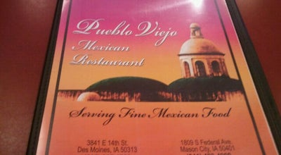 Photo of Mexican Restaurant Pueblo Viejo at 3841 E 14th St, Des Moines, IA 50313, United States
