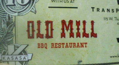 Photo of BBQ Joint Old Mill BBQ Restraunt at Reeves, TX, United States