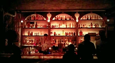 Photo of Cocktail Bar Apotheke at 9 Doyers St, New York, NY 10013, United States