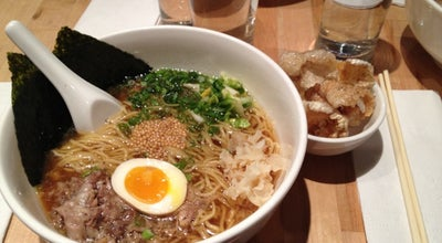 Photo of Japanese Restaurant Momofuku Noodle Bar at 171 1st Ave, New York, NY 10003, United States