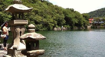 Photo of Lake 明神池 at 椿東, 萩市 758-0011, Japan