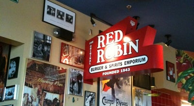 Photo of Burger Joint Red Robin Gourmet Burgers at 16814 Twin Lakes Ave, Marysville, WA 98271, United States