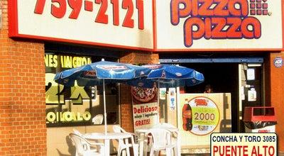 Photo of Pizza Place PizzaPizza Puente Alto at Concha Y Toro 3085, Santiago, Chile