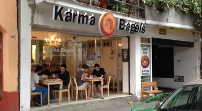 Photo of Bagel Shop Karma Bagels at Nuevo León 102, Cuauhtémoc 06100, Mexico