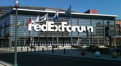 Photo of Basketball Stadium FedExForum at 191 Beale Street, Memphis, TN 38103, United States