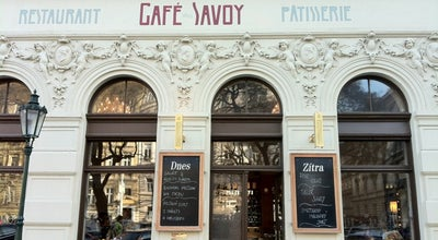 Photo of Cafe Café Savoy at Vítězná 5, Praha 150 00, Czech Republic