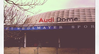 Photo of Basketball Stadium Audi Dome (Rudi-Sedlmayer-Halle) at Grasweg 74, München 81373, Germany