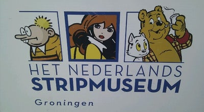 Photo of Art Museum Het Nederlands Stripmuseum at Shoppingcentre De Westerhaven, Groningen 9718 AC, Netherlands