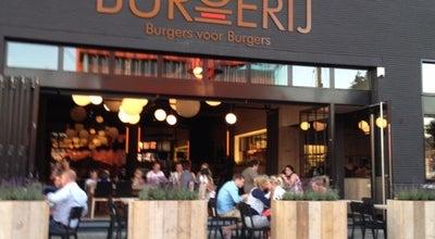 Photo of American Restaurant De Burgerij at Sint-laureiskaai 8, Antwerp 2000, Belgium
