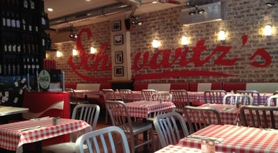 Photo of American Restaurant Schwartz's deli at 22 Avenue Niel, Ile-de-France 75017, France