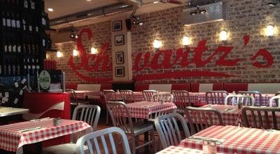 Photo of Burger Joint Schwartz's Deli at 22 Avenue Niel, Paris 75017, France