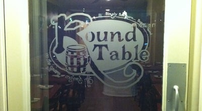 Photo of Pizza Place Round Table at 132 Courthouse Sq, Oxford, MS 38655, United States