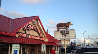 Photo of Steakhouse T-Bone Tom's at 707 Highway 146, Kemah, TX 77565, United States