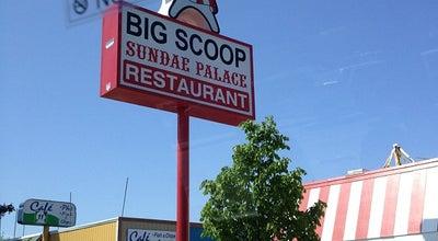 Photo of Ice Cream Shop Big Scoop at 327 E College Way, Mount Vernon, WA 98273, United States
