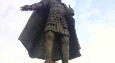 Photo of Monument / Landmark Памятник Владимиру Храброму at Пл. Владимира Храброго, Серпухов, Russia